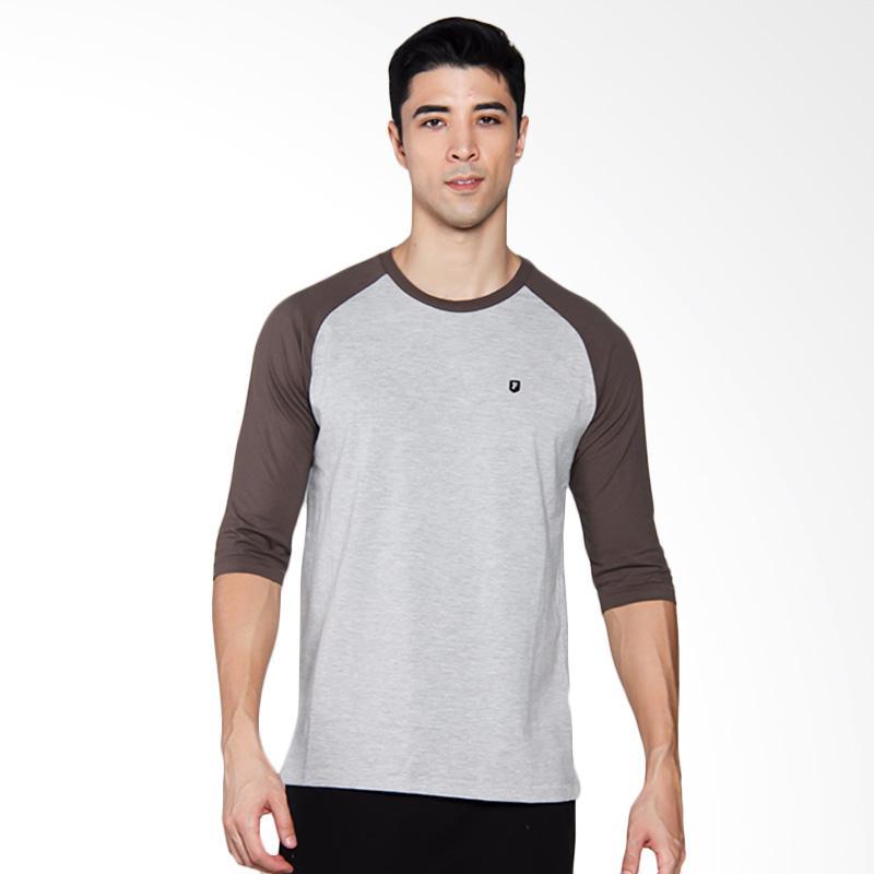 Famo 0404 T-shirt Pria - Green [504041712]
