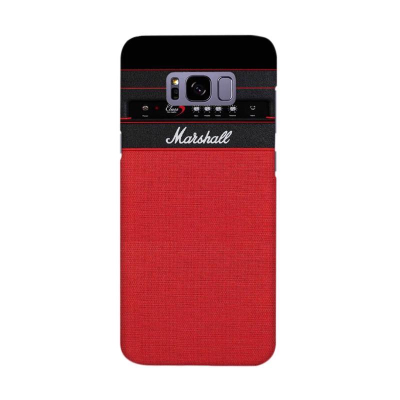 Apple Iphone 5 5s Custom Hard Case. Indocustomcase Red Marshall Guitar Amplifier .
