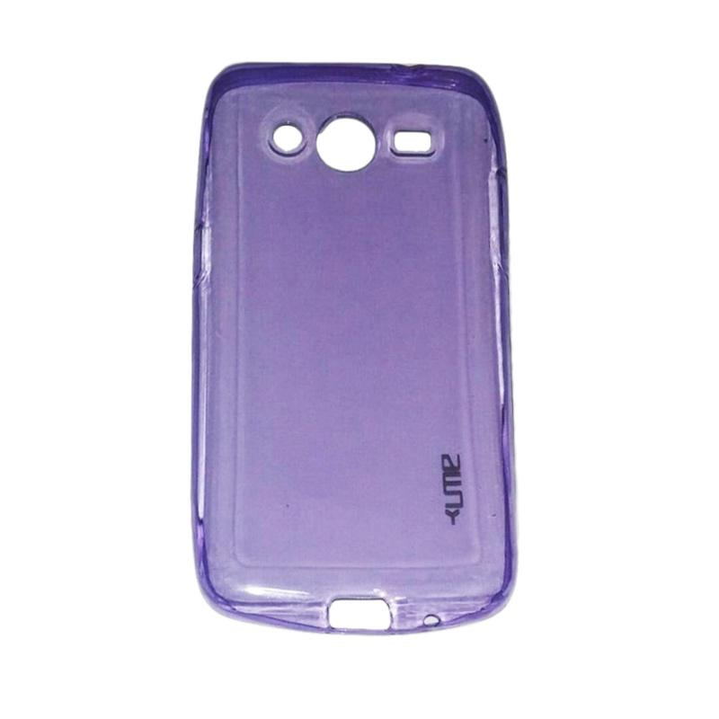 Ume UltraThin Softcase Silicone Casing for Samsung Galaxy Core 2 or G355H - Ungu