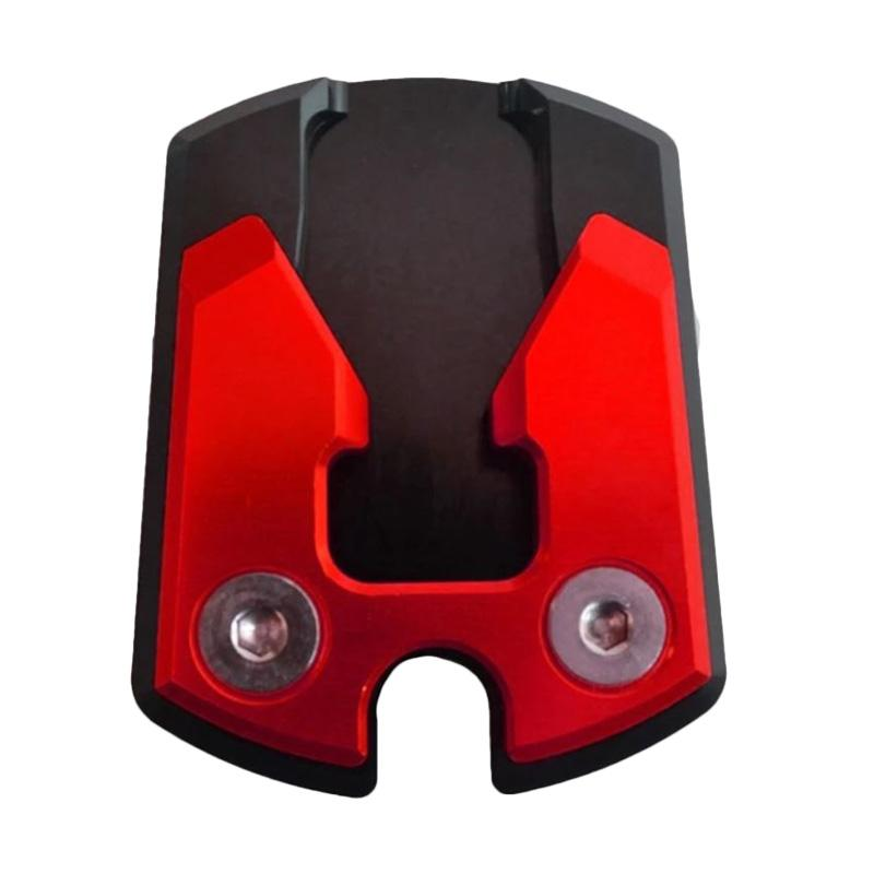 Raja Motor Cover Standar Samping for Yamaha NMax - Hitam Merah [CVR3103-Hitam-Merah]