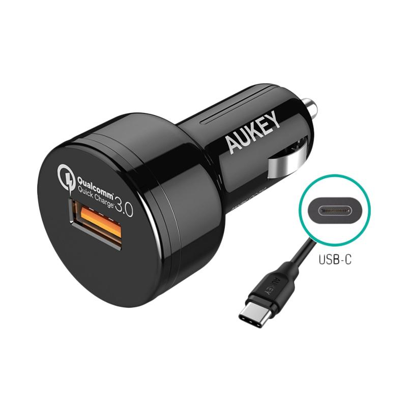 Aukey CC-T12 Car Charger [24W/ 1 Port USB/ Qualcomm Quick Charge 3.0]