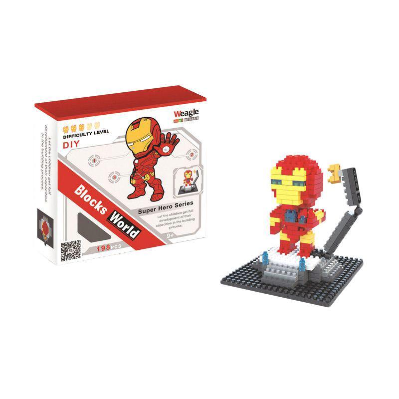 Weagle Iron Man 2253 Mainan Blocks