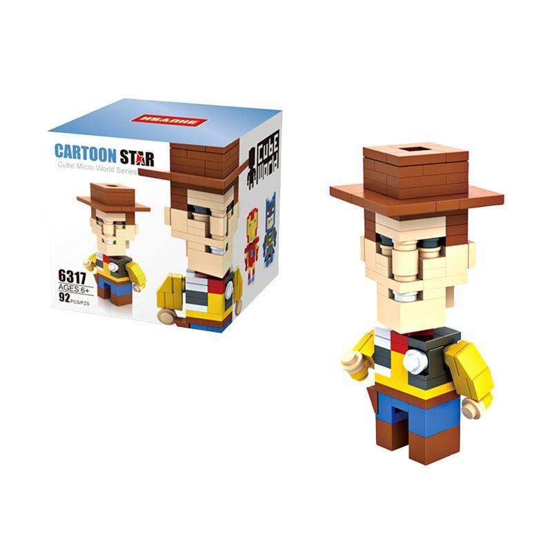 HSANHE Cube 6317 Mainan Blok & Puzzle
