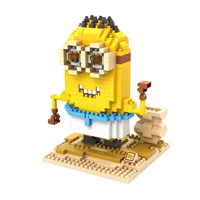Loz Gift XL 9611 Egypt Mainan Blok dan Puzzle