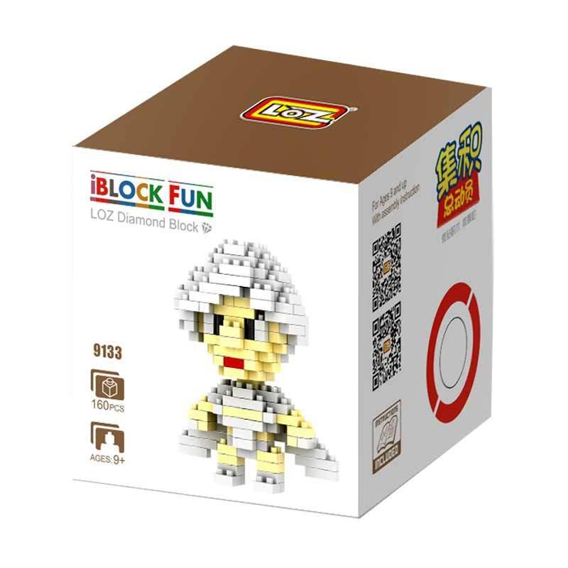 Loz Medium Gift 9133 Storm Xmen Mainan Blok & Puzzle