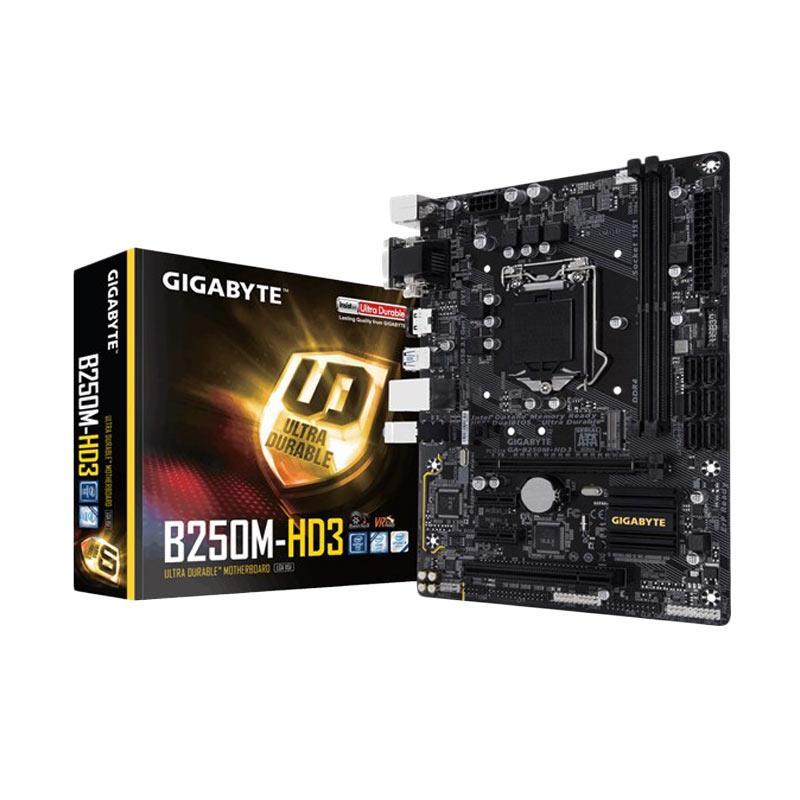 Gigabyte GA-B250M-HD3 7th Gen Intel Motherboard