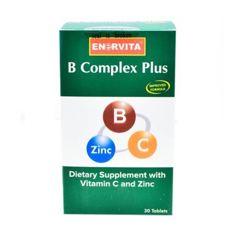 harga Enervita B Complex Plus Suplemen [30 Tab] Blibli.com