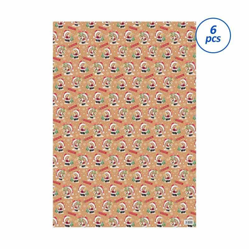 Capricorn Design GWC 341 Natal Kertas Kado [6 pcs]