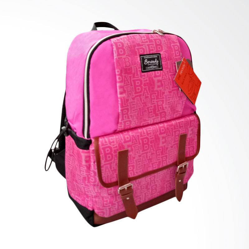 BEREADY BP 5017 Backpack Tas Ransel - Pink