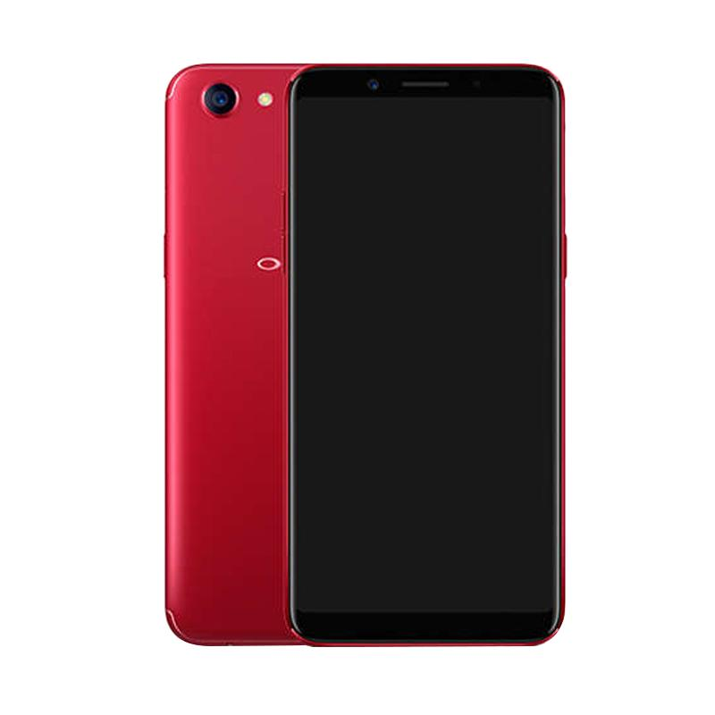 OPPO F5 Smartphone - Red [64 GB/6 GB]