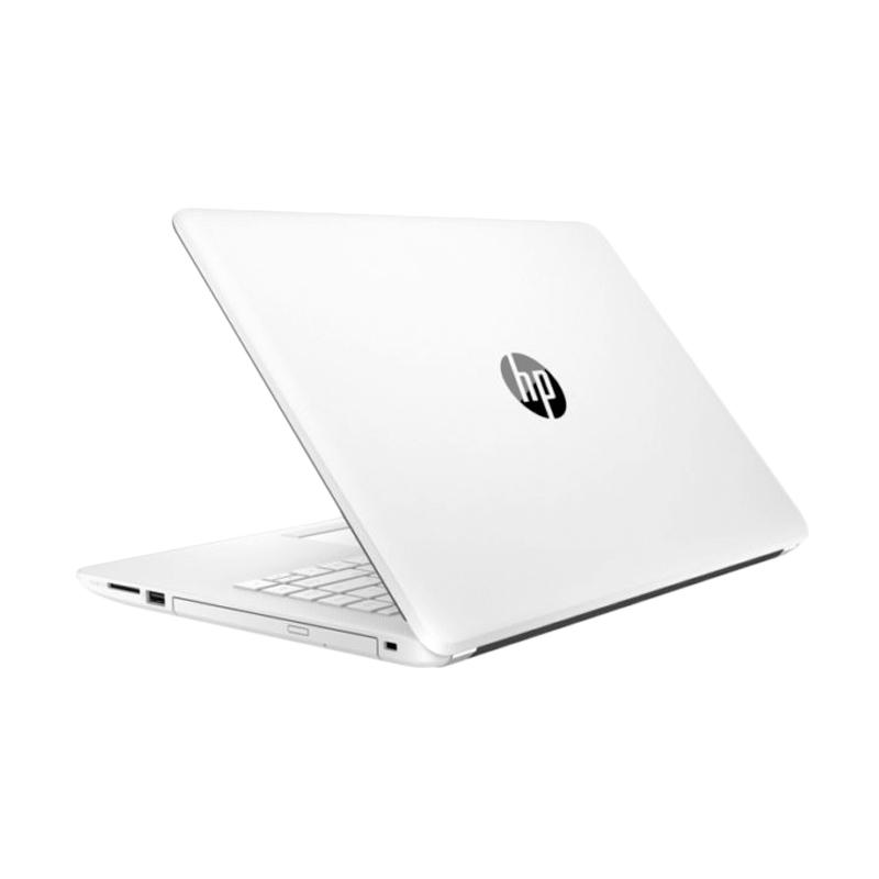 harga HP 14-BS 001TX Notebook - White [i3-6006/4 GB/1 TB/14 Inch/ATI Radeon/Dos] Blibli.com