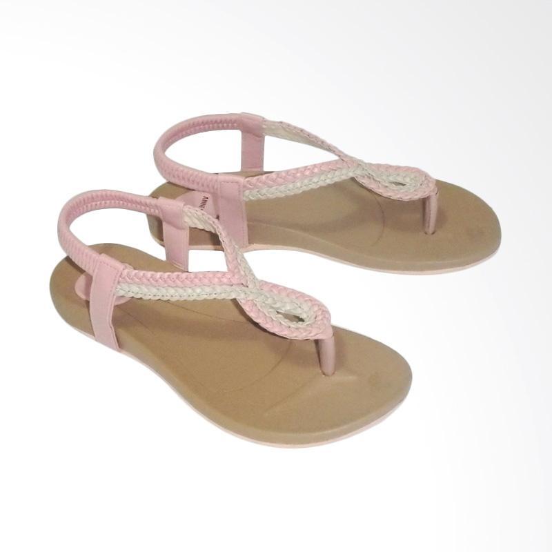 Anneliese ai 03 Sandal Flat Wanita - Salem