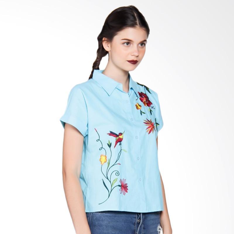 Levis Barstow Western Shirt Garapata Viney Daftar Update Harga Source · Spek Harga Miss Fryday 6132 0821 1779 Bordir Kemeja Lengan Pendek Wanita Light Blue