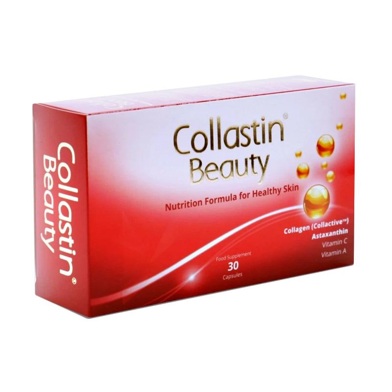 Collastin Beauty Suplemen Kesehatan [30 Capsules]