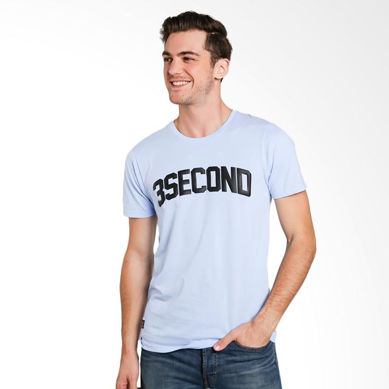 3SECOND 6312 Men Tshirt - Blue