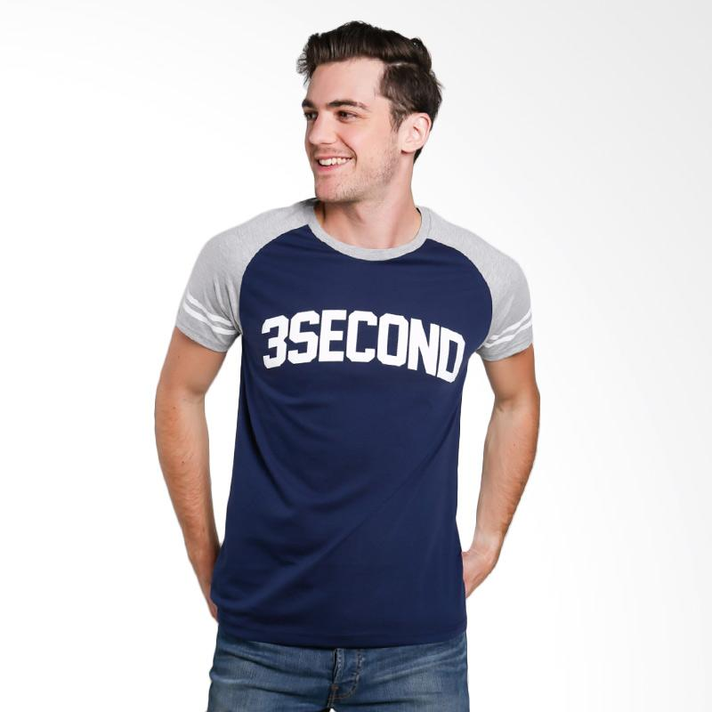 3SECOND 2512 Men T-shirt - Grey
