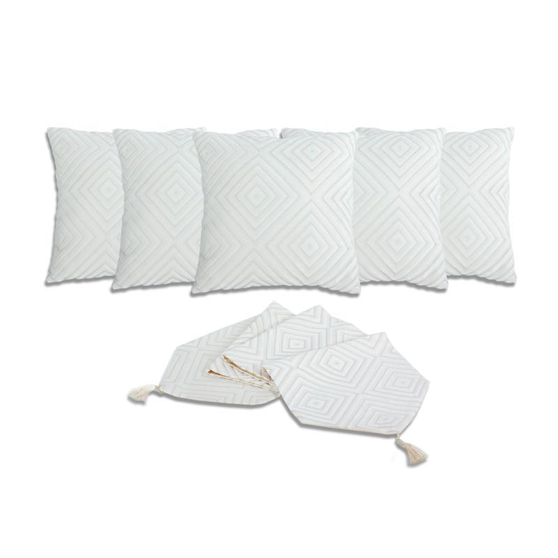 Jual Tren D Home Taplak Meja Table Cloth Katun Polyester 110 Cm X Source · Spek Harga Tren D Home Bludru Aksen Dekorative Sarung Bantal Sofa 40 x