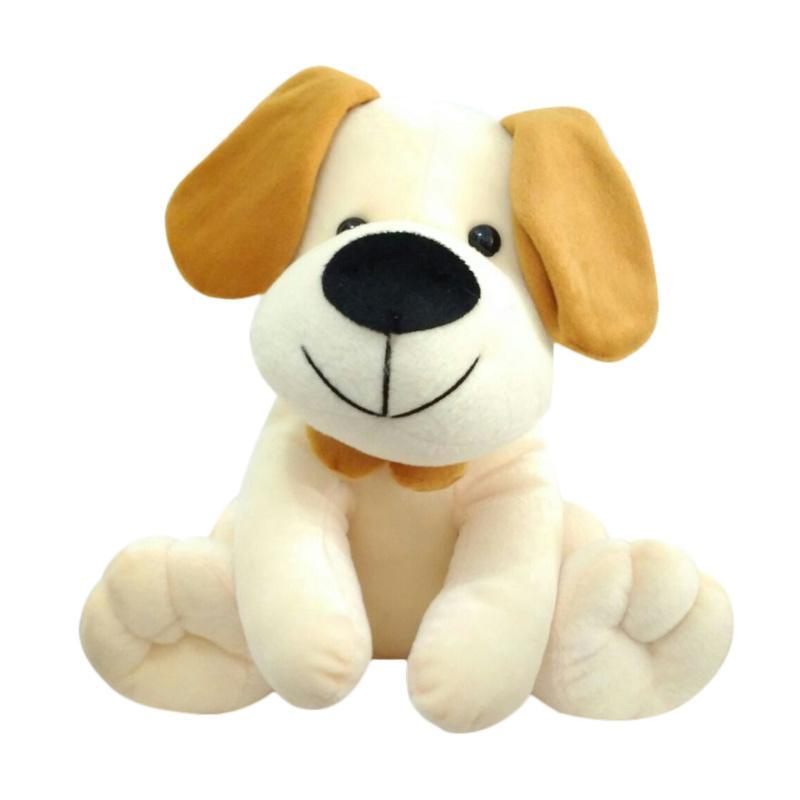 SEULGI 0960020266 Animal Dog Anjing Boneka - Brown