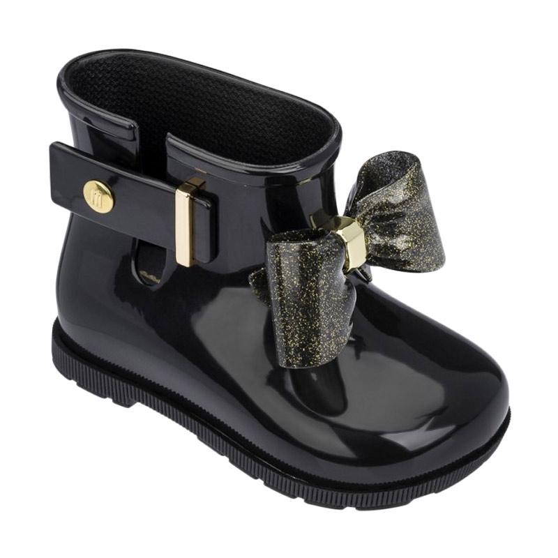 harga Mini Melissa Sugar Rain Boots Sepatu Anak Perempuan - Black Blibli.com