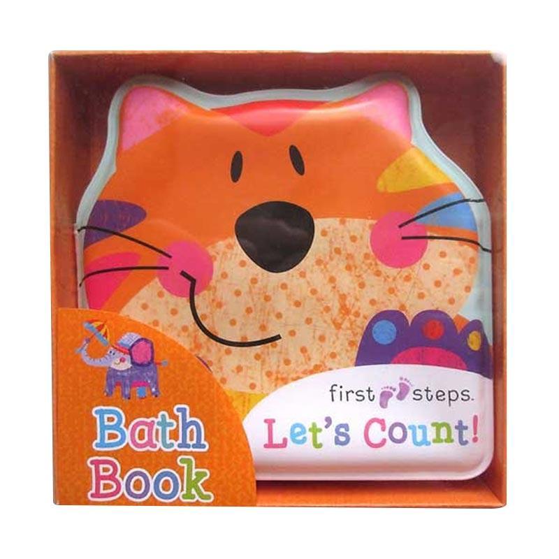 Genius First Steps Let's Count! Squeaky Bath Book Buku Edukasi Anak