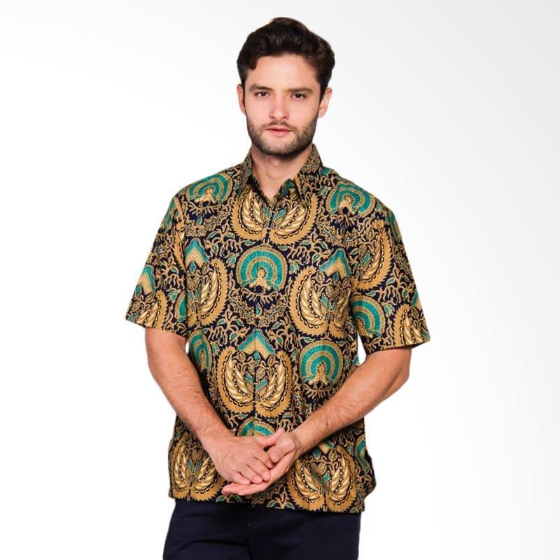 Adiwangsa Model Slim Fit Modern Baju Kemeja Batik Pria [012]