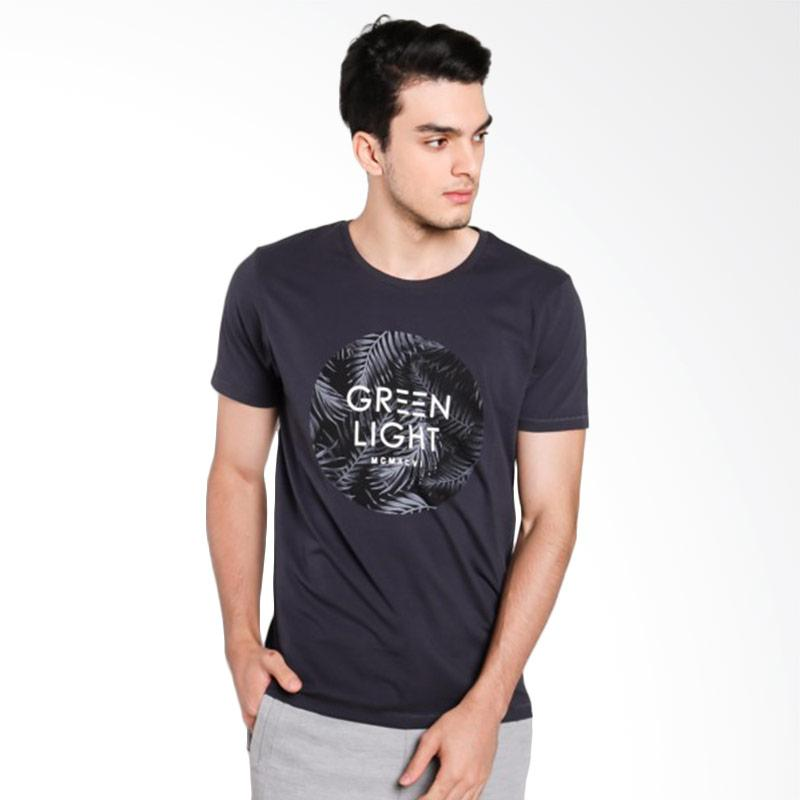 Greenlight Men 6612 T- shirt Pria - Grey