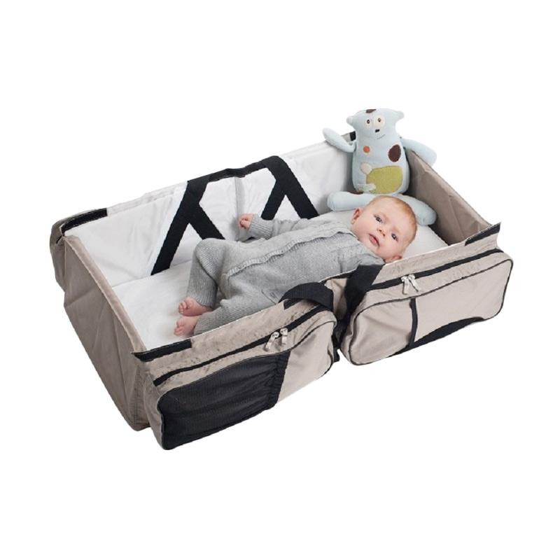 BabySafe FC001 Foldable Baby Carrier - Stone Grey