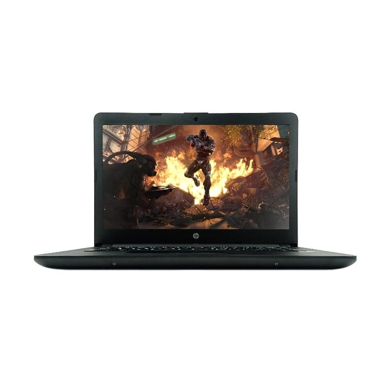 harga HP 14-BS 001TU Notebook - Black [Celeron N3060/RAM 4GB/HDD 500GB/LCD 14