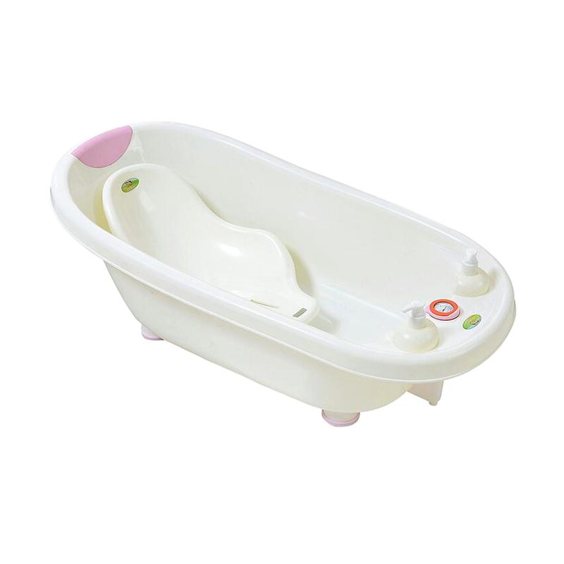 Kandila Temperature Bath Tub Bak Mandi - Pink