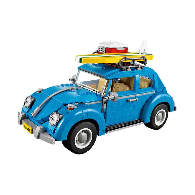 Lepin 21003 Volkswagen Beetle Mainan Blok & Puzzle