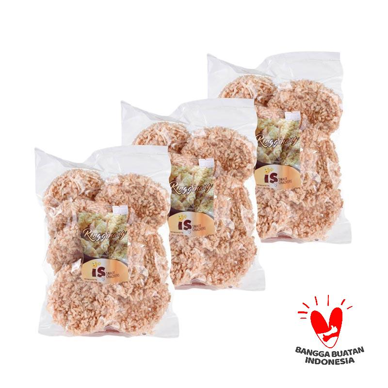 IS Snack Crackers Rengginang [3 Pcs]