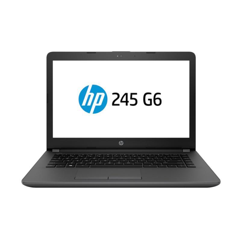 harga HP 245 G6 Laptop - GREY [AMD A9-9420/4GB/500GB/Radeon R5/14 Inch/DOS]. RESMI Blibli.com