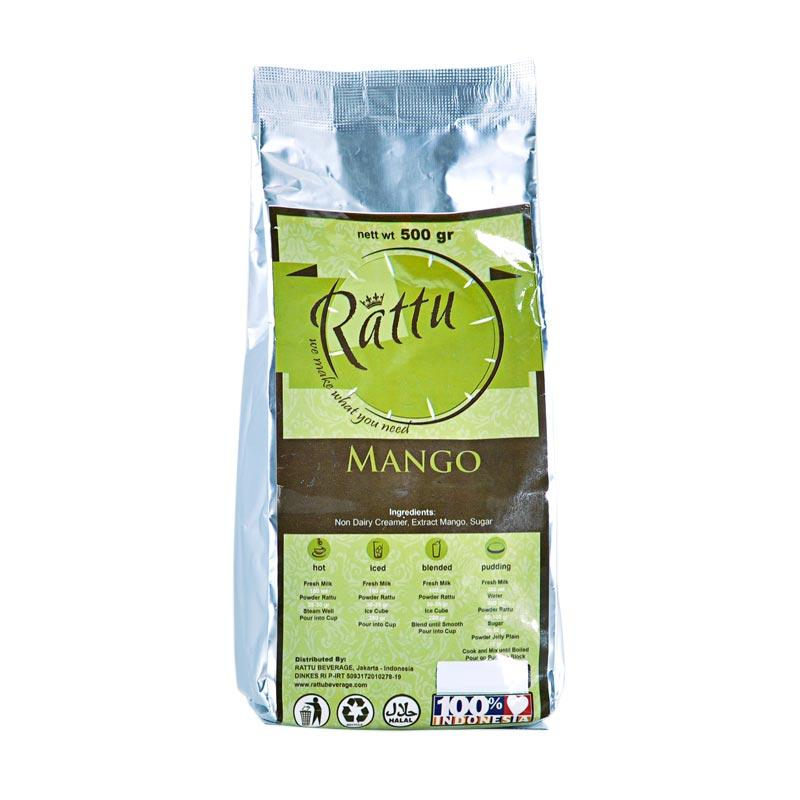 Rattu Beverage Mangga Minuman Instant [500 g]