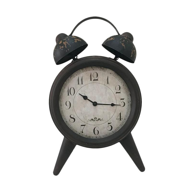 Beli Tokuniku Vintage Retro Europian Antique Alarm Clock Shape Jam Desktop [10 Inch/Big