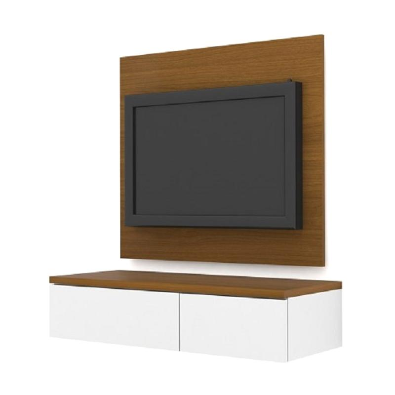 HighPoint PCI50002 Case Cabinet with TV Panel - Rosewood White