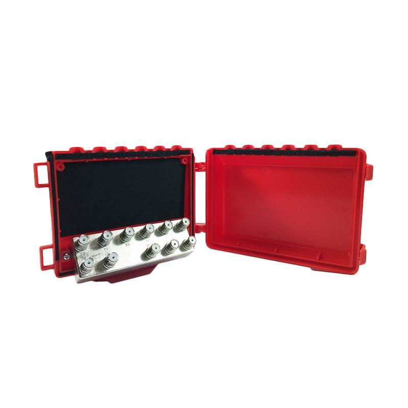 Kaonsat KS-101DS DiSeqC Switch [10 LNB/10x1/Satelit To 1 Receiver]