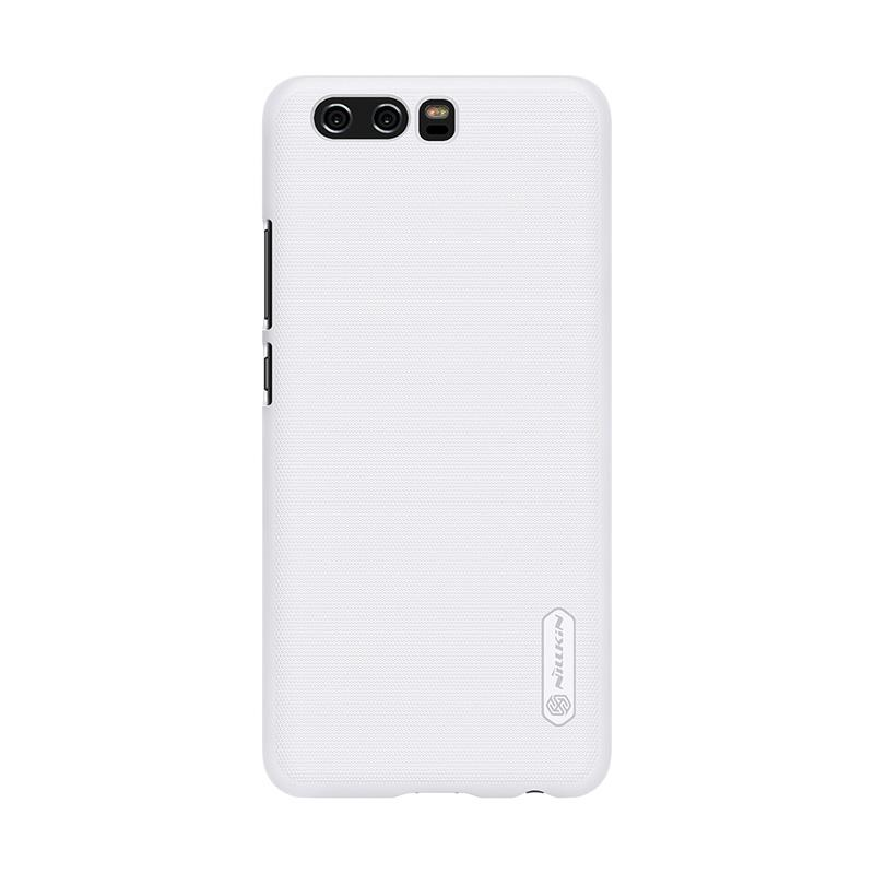 Jual Online Nillkin Super Frosted Shield Hardcase Casing for Huawei P10 plus - White Murah