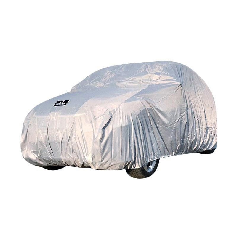 DURABLE Selimut Cover Body Mobil for Toyota Hilux Double Cabin - Grey