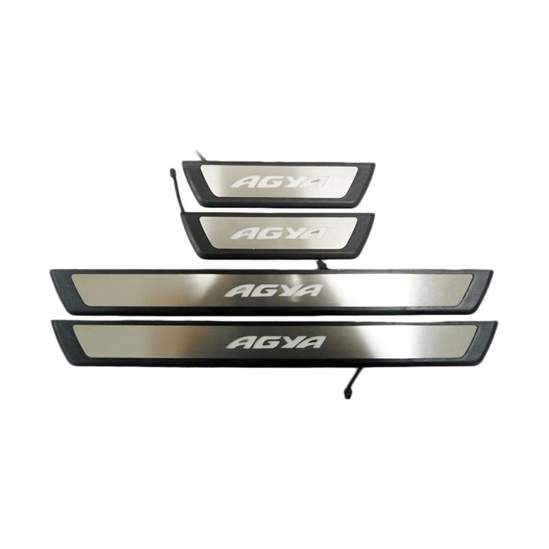 SIV Door Sill Plate dan Lampu Samping Mobil for Toyota Agya