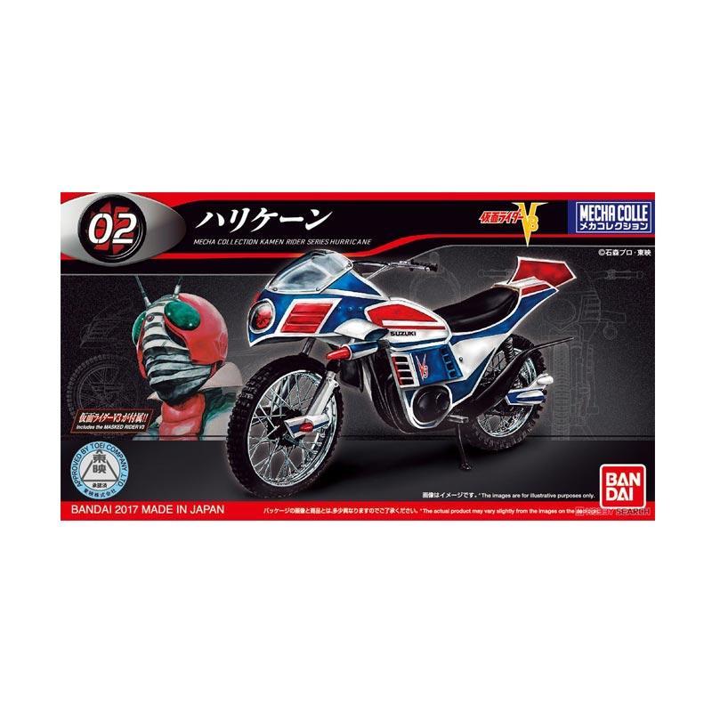 Bandai Mechacolle Kamen Rider V3 Hurricane Action Figure