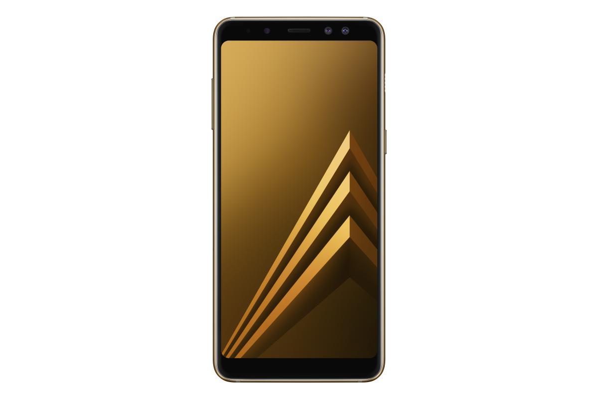 Samsung Galaxy A8 Smartphone - Gold [32 GB/4 GB/2018 Edition]