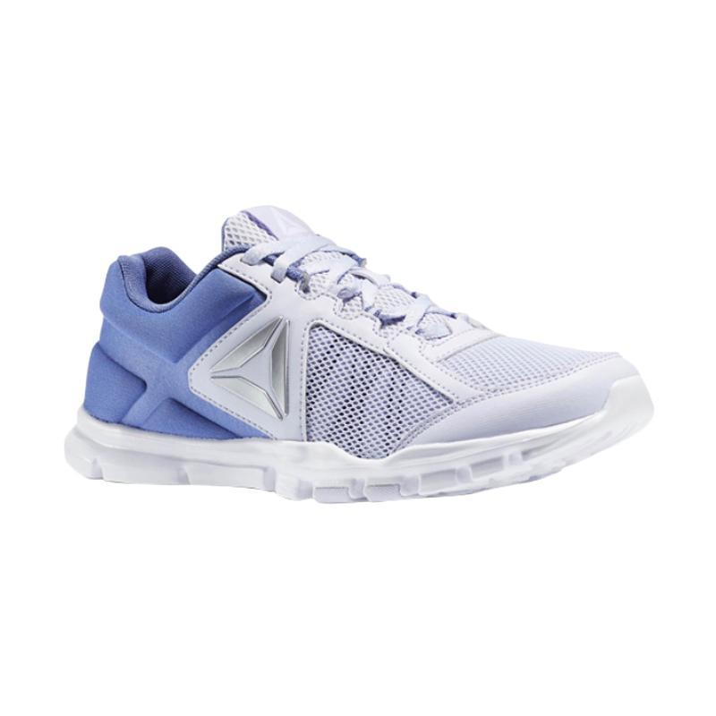Reebok Yourflex Train Sepatu Sepatu Lari Wanita - Blue Silver [BS8034]