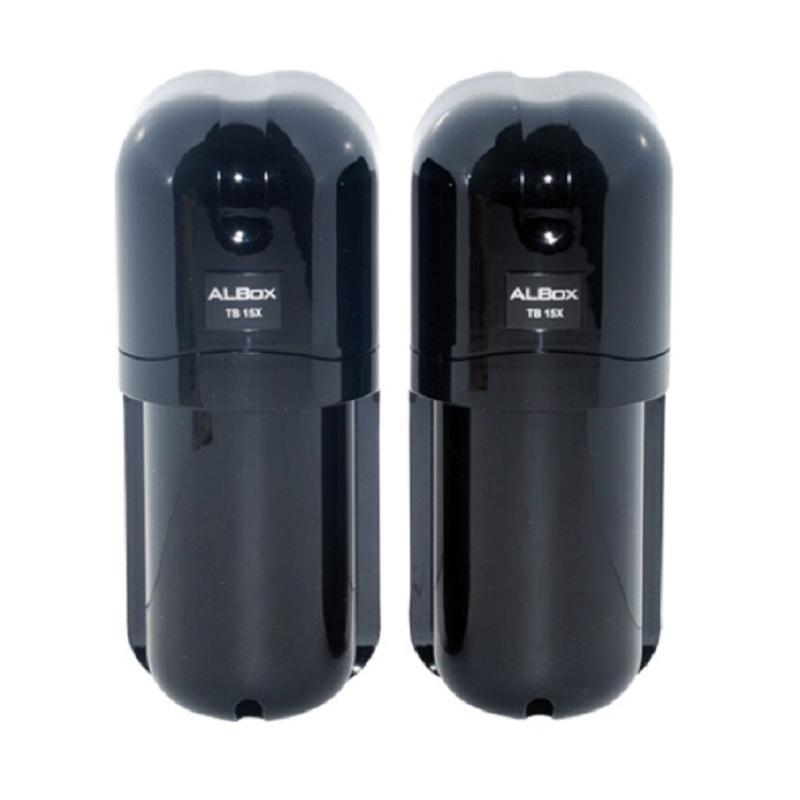 ALBOX TB15X Two-Beam Digital Active Infrared Photoelectric Detector Perangkat Keamanan
