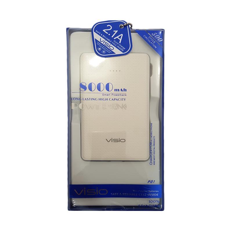 VISIO Smart Powerbank - White [8000 mAh]