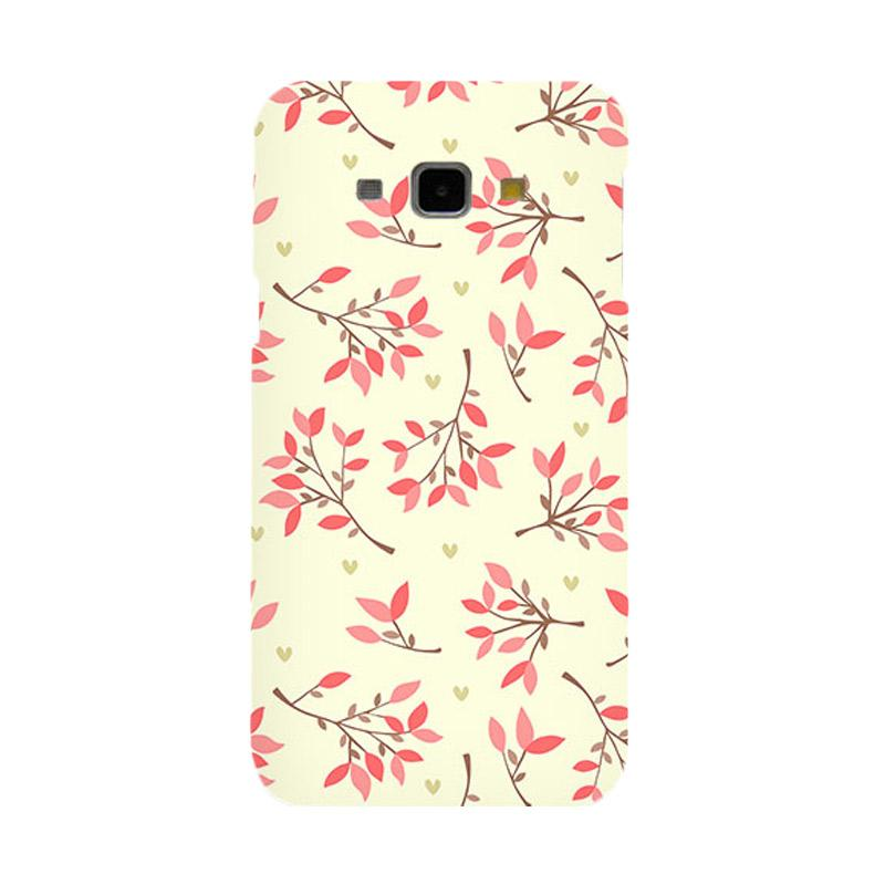 Premiumcaseid Cute Floral Seamless Shabby Hardcase Casing for Samsung Galaxy A8