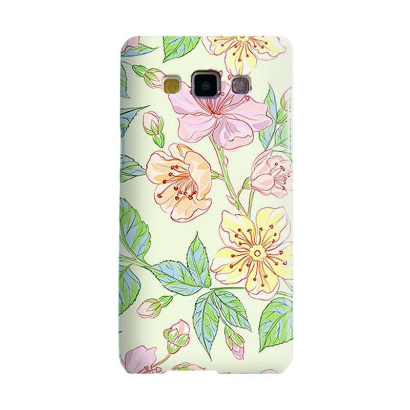 Premiumcaseid Beautiful Flower Wallpaper Hardcase Casing for Samsung Galaxy A5
