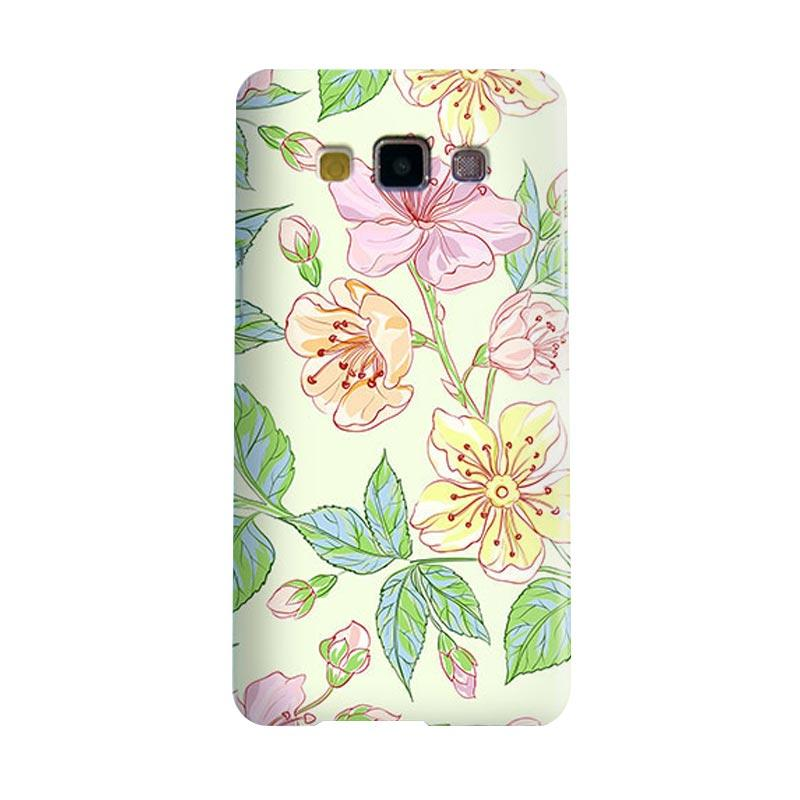 Premiumcaseid Beautiful Flower Wallpaper Hardcase Casing for Samsung Galaxy A7