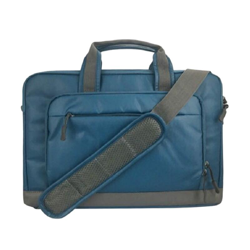 Cartinoe Tas Laptop Selempang 14 inch - Biru