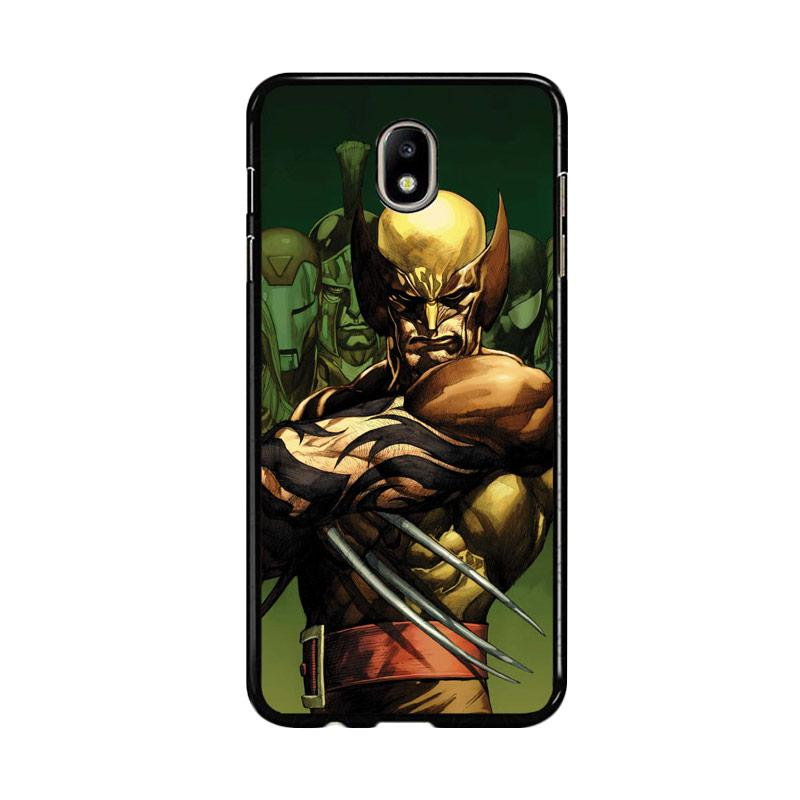 Flazzstore Dark Wolverine X-Man And Friend F0376 Custom Casing for Samsung Galaxy J7 Pro 2017