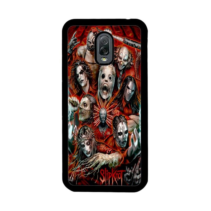 Flazzstore Slipknot Z0403 Custom Casing for Samsung Galaxy J7 Plus